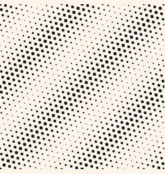 Halftone seamless pattern with diagonal gradient vector
