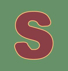 Letter s sign design template element vector