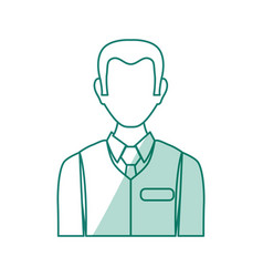 Sales advisor avatar vector