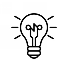 Smart Ideas Icon vector