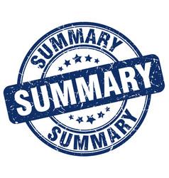 Summary stamp vector