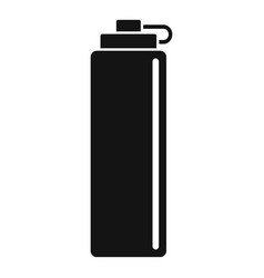 water bike bottle icon simple style vector image