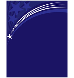 American blue background frame vector