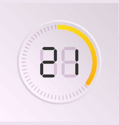 clock and watch vector image