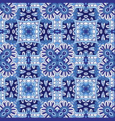 damask pattern for tiles and fabric vector image