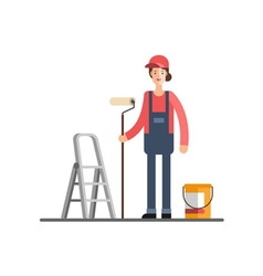 House repair Painting services vector image