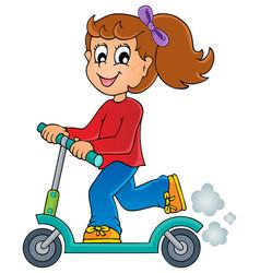 kids play theme image 4 vector image