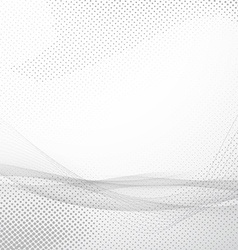 Modern abstract hi-tech smooth wave layout vector image