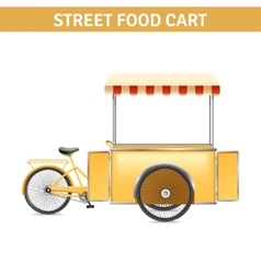Street Food Cart vector