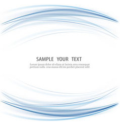 abstract blue business technology background vector image