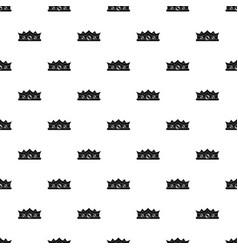 King crown pattern vector