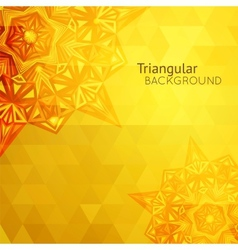 Gold business background vector image vector image