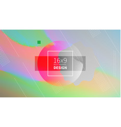 Futuristic design multicolored background vector