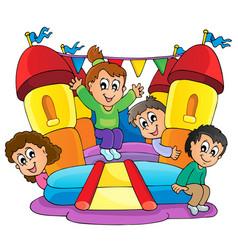 kids play theme image 9 vector image