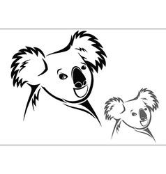 Koala bear vector image