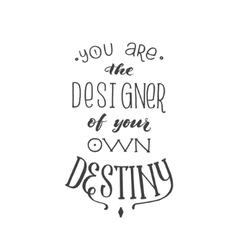 Motivation Hand Drawn Poster card with vector