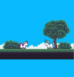 Pixel scene vector