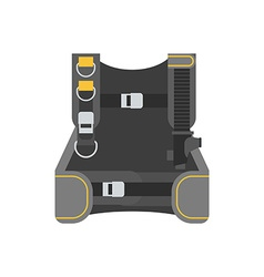 Scuba Weight System Jacket vector