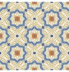 Seamless pattern Colorful ethnic ornament vector