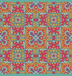 tribal indian ethnic seamless design vector image