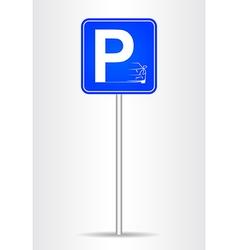 Znak Parking vector
