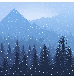 Mountain3 vector image vector image