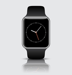 Apple Watch wristwatch vector image