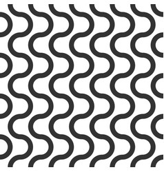 wavy seamless pattern geometric abstract vector image vector image