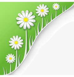 Abstract creative spring or summer background vector