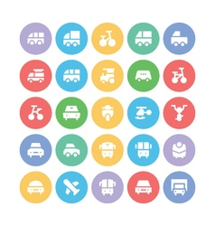 Transport Bold Icons 1 vector image vector image