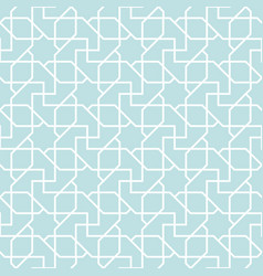 arabian geometric star seamless pattern background vector image