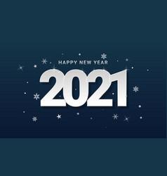 Happy new year 2021 banner design vector