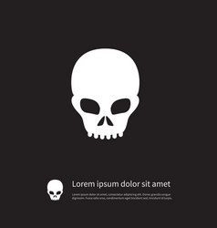 Isolated scary icon pirate element can be vector