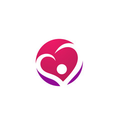 love logo and symbols template icons vector image