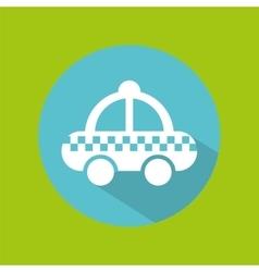 Man tourist traveler taxi icon design graphic vector