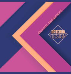 material design wallpaper vector image vector image