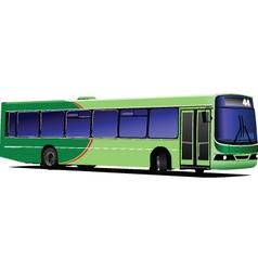 public bus vector image