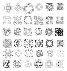 000 set orna vector image vector image