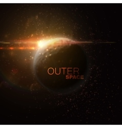 Outer Space Abstract vector image
