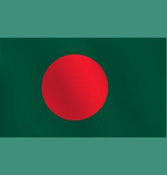 flag of bangladesh - vector image
