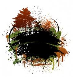 autumn grunge design vector image