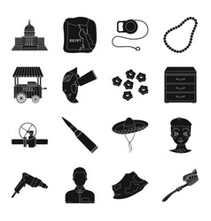 Dentistry weapons tools and other web icon in vector