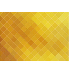 golden hot mosaic background vector image
