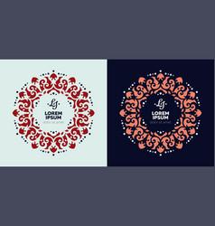 Mandala ethnic motifs vector