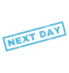 Next Day Rubber Stamp vector
