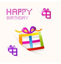 Happy Birthday theme vector image vector image