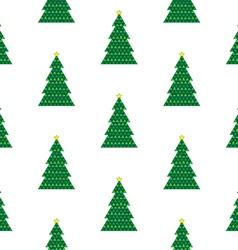 Xmas tree background vector image vector image