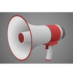 Realistic Megaphone isolated vector image
