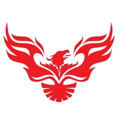 simple image phoenix vector image vector image