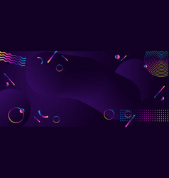 Abstract geometric ultraviolet background modern vector